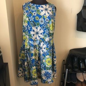 Blue fit and Flare dress!